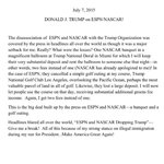 I get a lot of political press releases. Trumps are the rare few that sound like they were actually written by him. http://t.co/cMniB4xViP