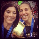 Golden Ball and Golden Glove winner selfie with the World Cup trophy in LA! http://t.co/bqsObSZpDm