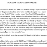 Donald Trumps latest press release is the greatest thing ever http://t.co/otEWsZUVcv