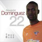 Alineación #LDU gracias a @DIRECTVEcuador En el arco A. Domínguez #TodoPorLIGA #EMEvsLIGA http://t.co/3GL71uWOwS