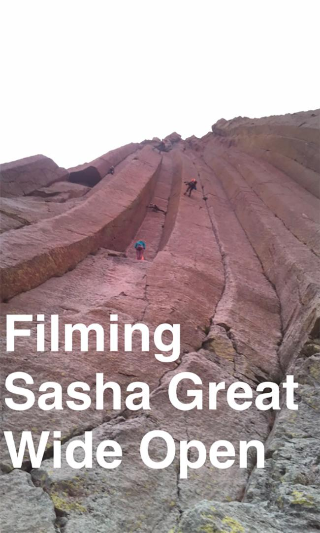 Filming @sashadigiulian. #GreatWideOpen http://t.co/19cD38GMu7