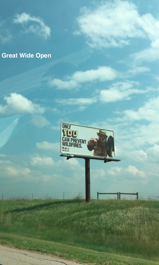 Only you. #GreatWideOpen ???????? http://t.co/w5L2nHiuXg