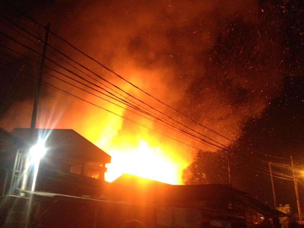 Berita Terkini Dibalik Musibah Kebakaran Di Tanah Abang Dan Cipete - AnekaNews.net