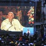 """Papa Francisco: El diálogo """"es necesario, fundamental para llegar a la verdad"""" http://t.co/wJGNjwDx9L (foto: EFE) http://t.co/hPrryyXLgh"""