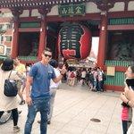 """ハメスさん来た(°д°)""""@jamesdrodriguez: Hi Tokio, こんにちは東京. http://t.co/IFMTzzz99s"""""""