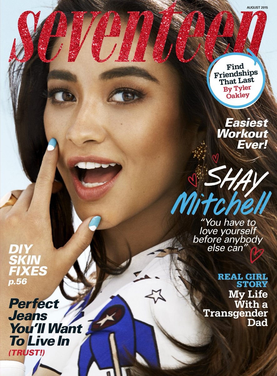 How amazing does @shaymitch look on the cover of this month's @seventeen magazine? cc: @ABCFpll #PLL http://t.co/Xsvg1jgENq