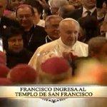 #PapaFrancisco llegó a San Francisco para su encuentro con sociedad civil. En vivo: http://t.co/MzKuhGyn2X http://t.co/f487luvKyM