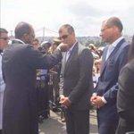 Comulgando??? No tiene sangre en la cara!!! Corrupto #FueraCorreaFuera #PapaFranciscoEnEcuador #ML http://t.co/u6Wx9xa4ML