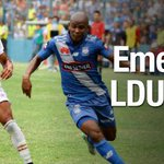 Emelec le quitó el invicto a Liga de Quito ► http://t.co/PZzmAtBWtK http://t.co/3YVOX6bYSZ