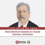 Hoy recordamos al Ex Gobernador de Chihuahua y Secretario de Gobernación, Don Abraham González http://t.co/IXoNoXOpqg
