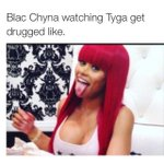 Blac Chyna Watching Yall roasting tyga like http://t.co/a4SxKiIozG