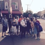 Walking🏃it out in Hampden. Community+Police= 1Baltimore #communitypolicing http://t.co/U1YJrHDPMx