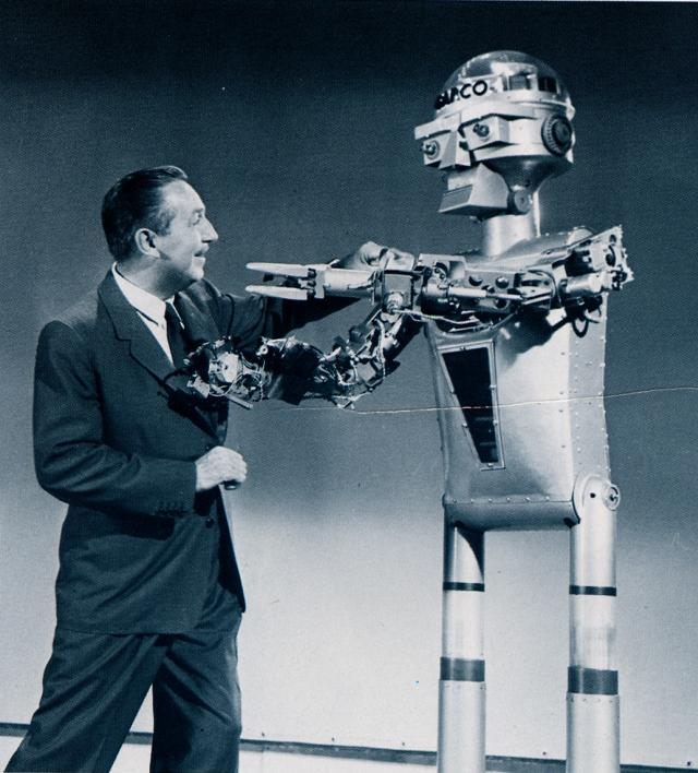 """@ProgressCityUSA """"Sometimes you just need to punch a robot."""" --Walt Disney http://t.co/r2FPTySIOT"""