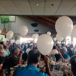 Amazing support @RMH #YVR International Golf Tournament as @stevedarling @GlobalBC announces the 50/50 balloon draw. http://t.co/u3zoZT2Xvp