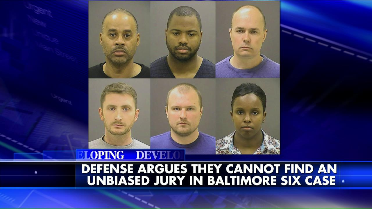 "If #FreddieGray case stays in #Baltimore Kevin Jackson says, ""There's no way these cops will get a fair shake."" http://t.co/bivQwvMkkO"