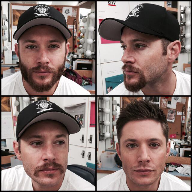 The transformation is complete.  Season 11 has officially begun.  #SPN11 http://t.co/ZCeYv9nHKT