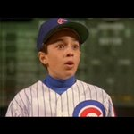"On 22nd anniversary of ""Rookie of the Year"" theatre debut, @cubs bring back Rowengartner for 1st pitch/7th inning http://t.co/EkNoMoJrVP"