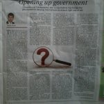 Opening up government, Op-ed article by @aryaltanka today @RepublicaNepal | https://t.co/ffyZEXgPg4 http://t.co/Wy6KLYNggz