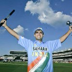 The man who took Indian Cricket to the next level. Wishing a very happy birthday to the Prince! #HappyBirthdayDada http://t.co/PRdnLM7tXj