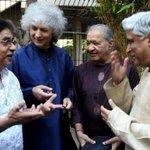 A moment of camaraderie :Jagjitji Shivji Hariprasadji and me http://t.co/EDMAMhtmWK