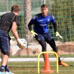 PICTURES: The keepers get stuck in as Birmingham City training in Marbella continues http://t.co/7gxlDMlwx8 #BCFC http://t.co/Ed0iGFuFox