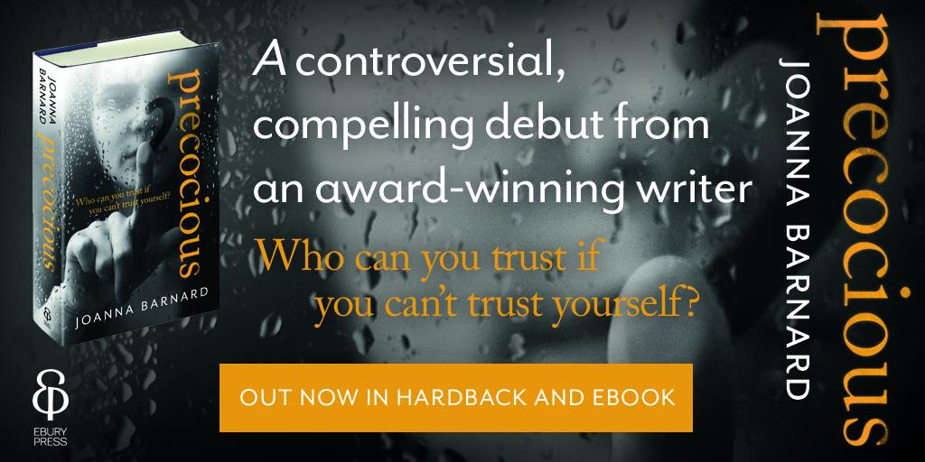 COMP! Win 1 of 5 copies of @JoannaBarnard76's gripping novel #Precocious - RT + follow by 4PM http://t.co/axoHYjUUE0 http://t.co/m87n1dwIVO