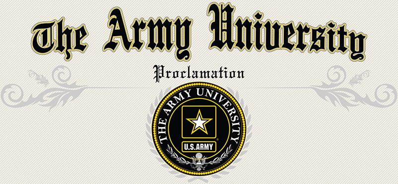 The Army University has been officially launched! http://t.co/f2ZBrN0eUm http://t.co/mOuhcUqG2t