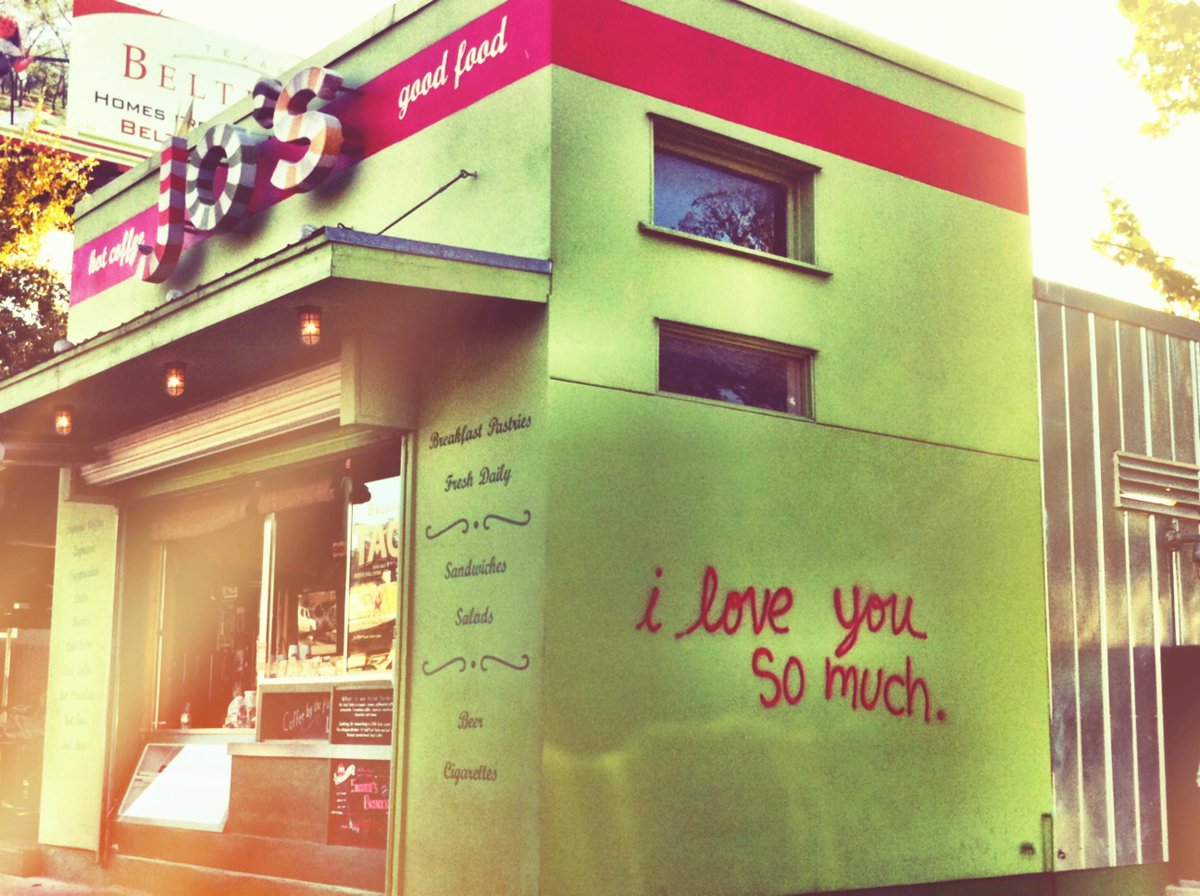 Good morning, Austin. I love you so much. #GoLocal @joscoffee http://t.co/lQlF1DUJ6V