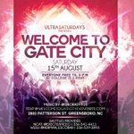 8.15 | #WelcomeToGateCity💥 | $5 General & $10 No wait Tixs |Ultra| Free RSVPs are GONE❗️| http://t.co/Dhk0ymWls5 http://t.co/LuXb6M7XhH!!!