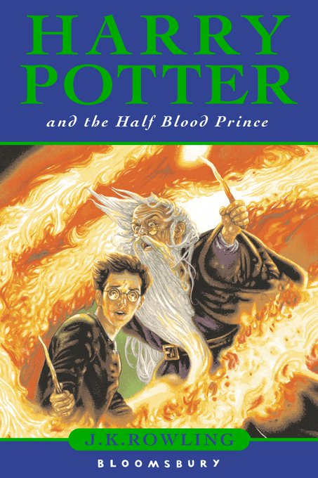 Happy 10th birthday to Harry Potter and the Half-Blood Prince, published on this day in 2005.