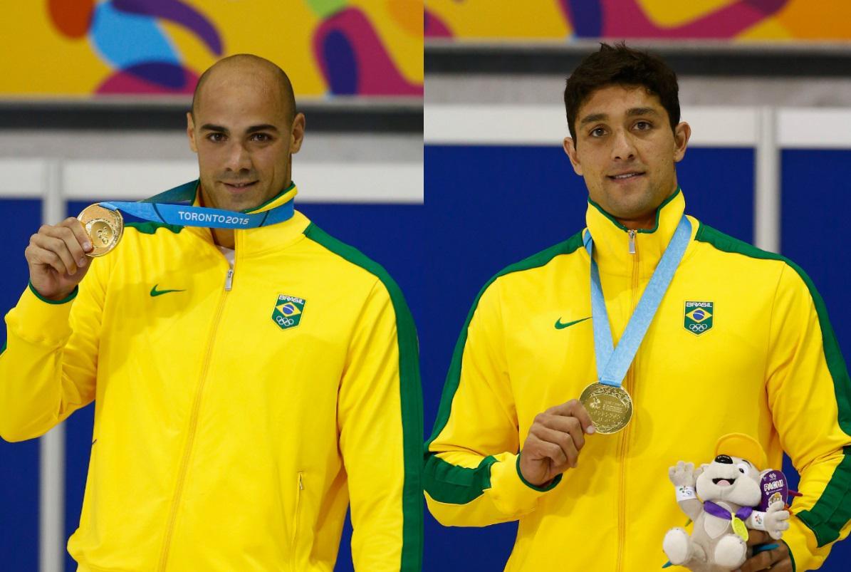 João de Lucca e Thiago Simon são ouro na natação do Pan. http://t.co/OLjJETRm04