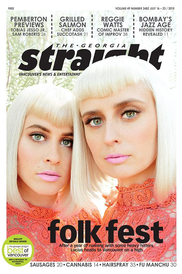 Check out @ilovelucius and @VanFolkFest on this week's cover! http://t.co/YcuJSgmfdx #folkfest http://t.co/Skir55CKn5