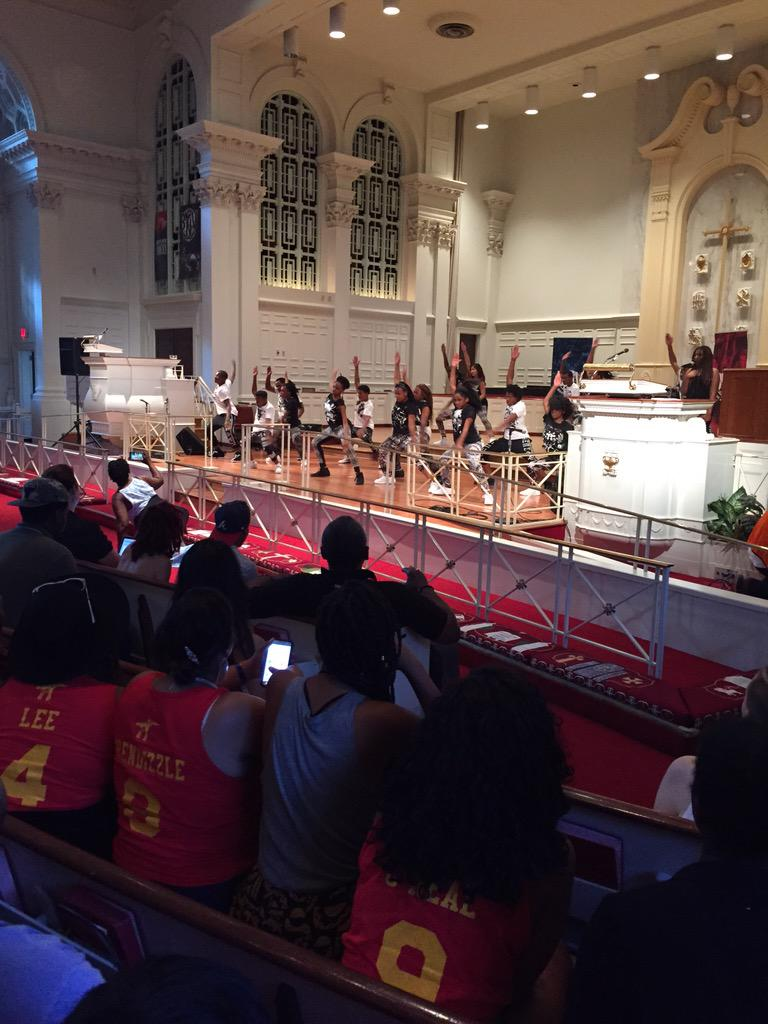 Super powerful! #Atlanta Step team. #BNV15 http://t.co/379DuAIVSV