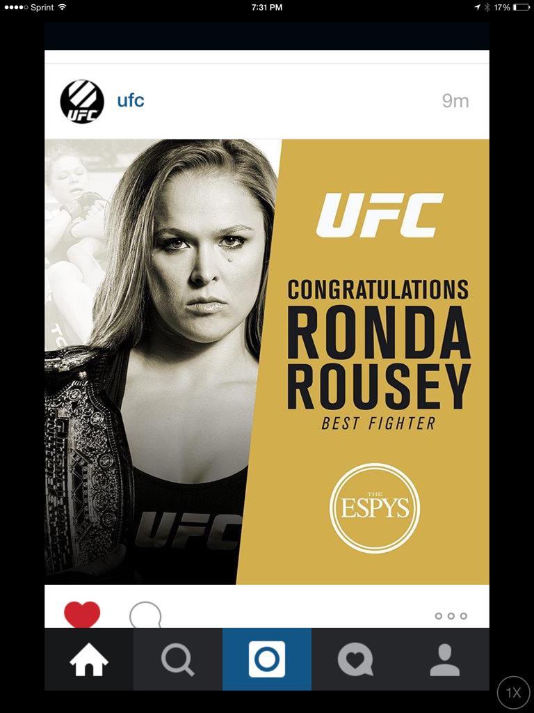@rosieperezbklyn @RondaRousey WON!!! http://t.co/drSy3ngB3R