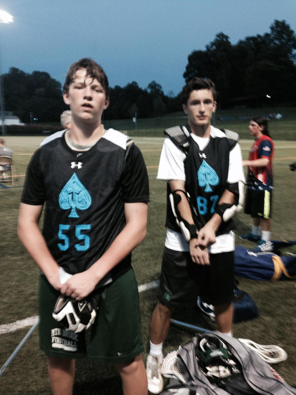 Our @trilogylacrosse Aces all stars! 2018s D Sean Doud and M Jackson Sharman @toplaxrecruits @PeaceLacrosse http://t.co/GGEgC9PI7f