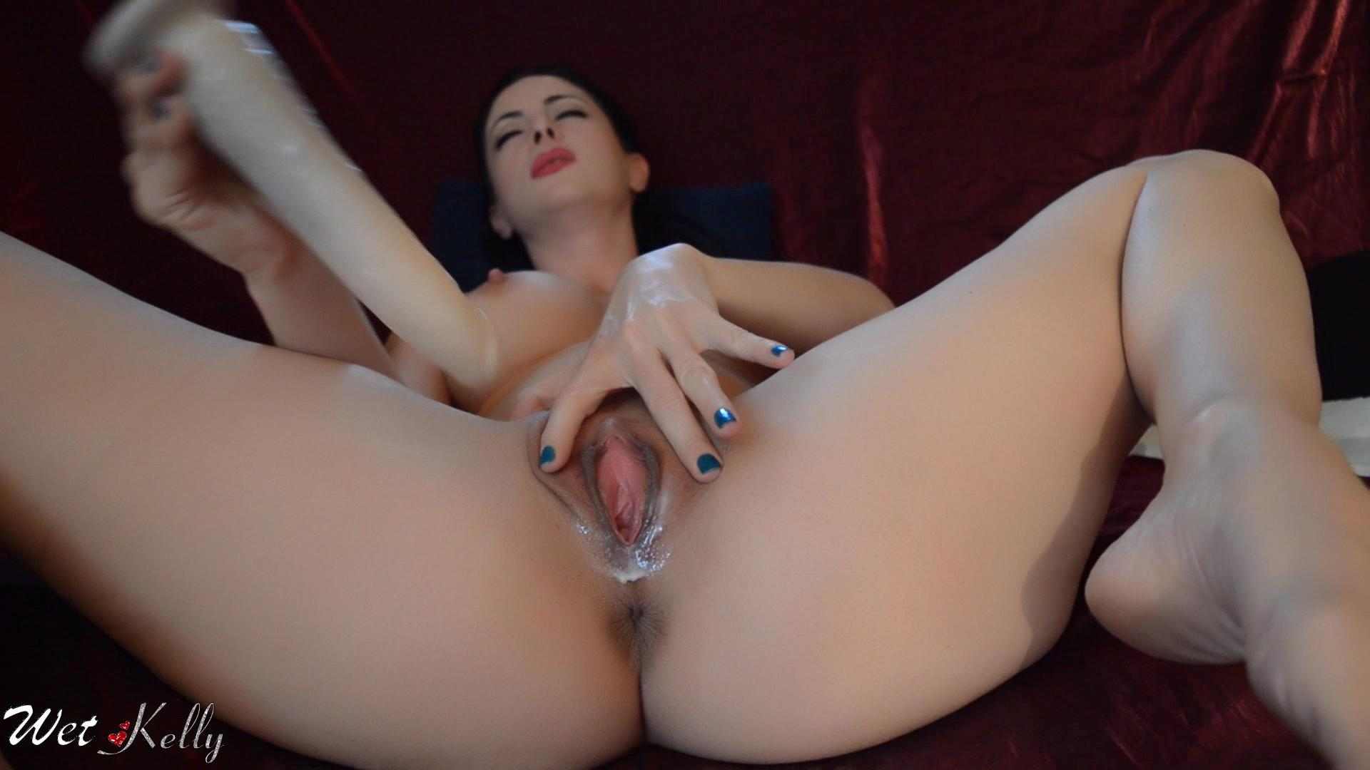 Milf with creamy pussy