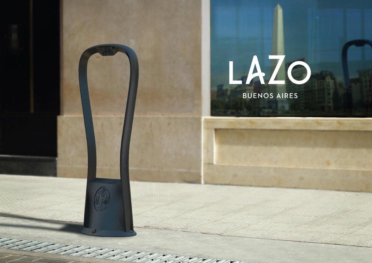Conocé LAZO, el proyecto ganador del concurso de diseño de Bicicleteros para la Ciudad > http://t.co/NMTqR4zVWP http://t.co/e1E5kxPNfk