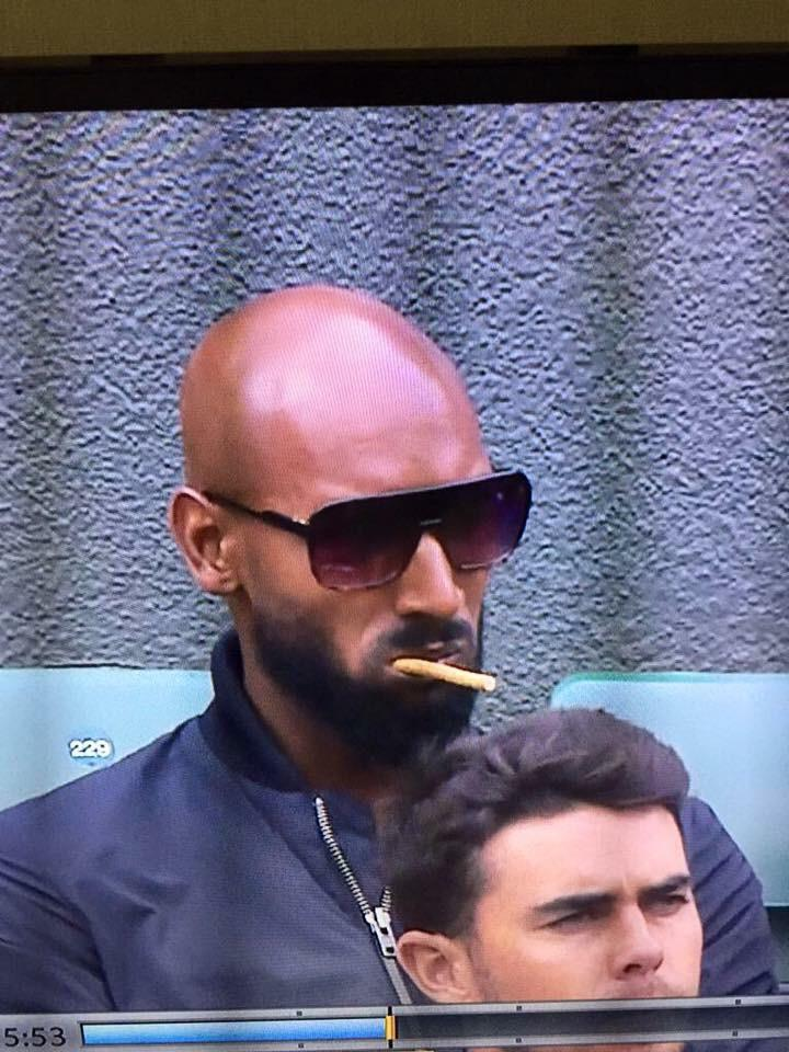 Brother like Anelka at Wimbledon #Miswak http://t.co/GRW8HgsqoB
