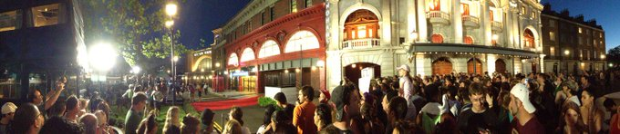 Happy 1st Birthday to The of Harry Potter - This is a shot of opening day July 8, 2014!