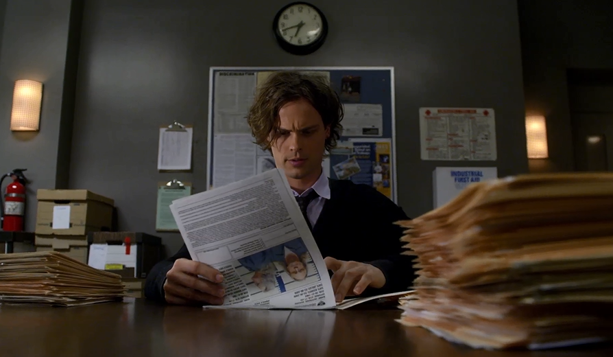 Reid can read 20k words per min. What else? Find out now http://t.co/EHkOs6zrPh #CriminalMinds @Gublernation http://t.co/9N2cGWBi9A