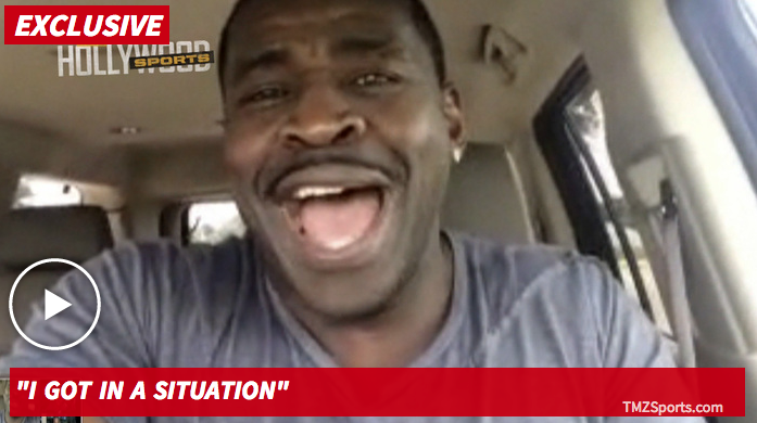Michael Irvin -- I Relate to Diddy ... Cops Called On Me at Son's Game