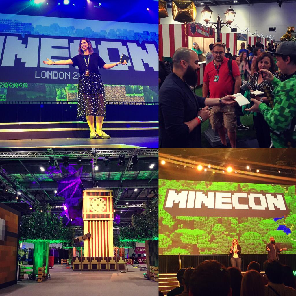 Best #MINECON yet!!! #MINECON2015 #Minecraft http://t.co/YuqJaEyf9N