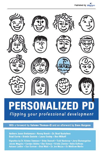 RT @GustafsonBrad: Super excited to share that our book will be released soon! #PersonalizedPD #CantWait #MESPAmn cc: @jbretzmann http://t.co/XkLp33gS6M