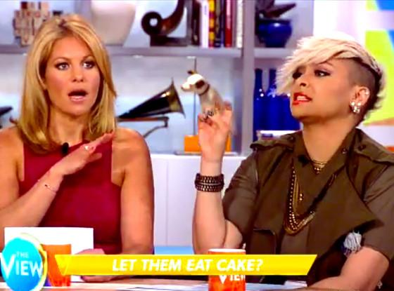 Things are getting heated! Candace Cameron Bure and Raven Symoné go head to head on The View: