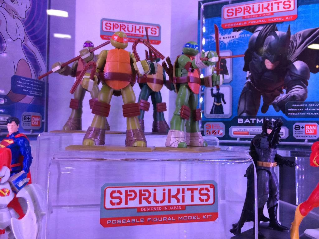 Sprukits. #TMNT #SDCC http://t.co/PmF3M9Rr3i