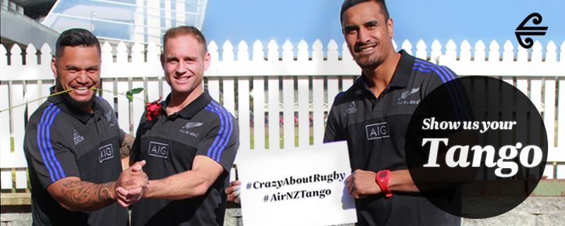 Share your best Tango pic & you could WIN flights, accom & tickets to @AllBlacks vs Argentina!