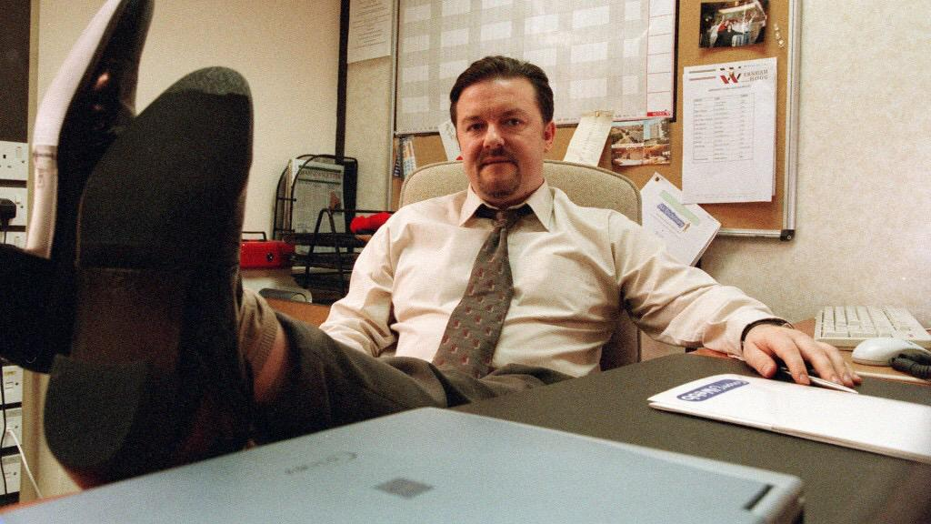 14 years ago today, #TheOffice was born. Here are 14 of David Brent's most memorable moments: http://t.co/XhSCOC0nnZ http://t.co/ngSBC1JPSI