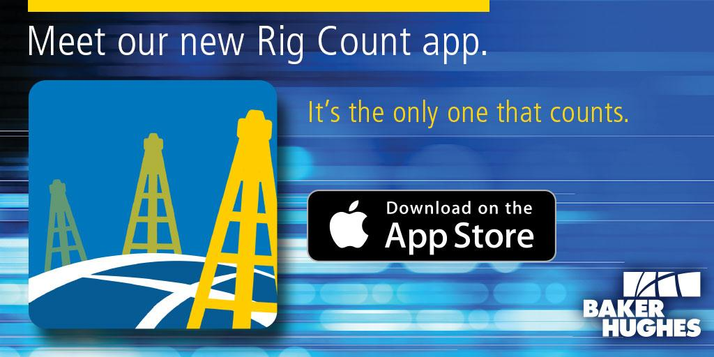 Download our new Rig Count app to have the world's active rig information at your fingertips! http://t.co/mUivnwKMK1 http://t.co/HMnAS299qZ