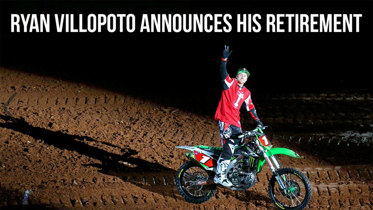 Official: Ryan Villopoto Announces His Retirement! @ryan_villopoto2 @ThorMXOfficial http://t.co/lxekp03ZUw http://t.co/W5D9vENOsJ