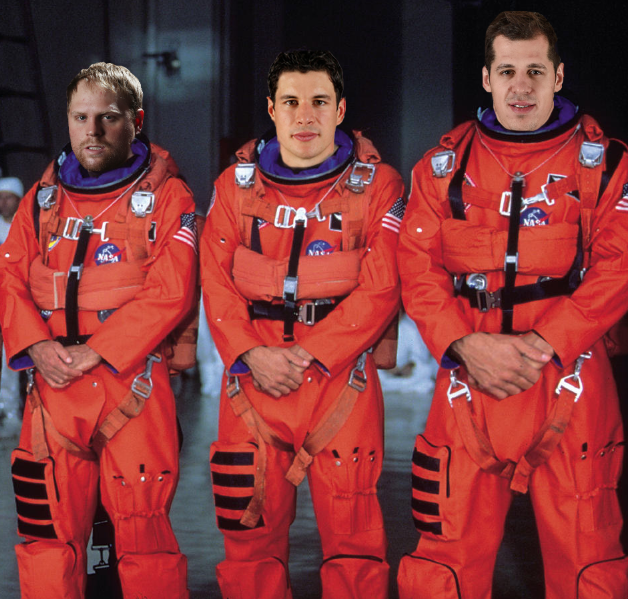 Phil Kessel, Sidney Crosby, Evgeni Malkin: on a mission to save the world http://t.co/Iq0XK08NDN